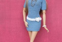 Crochet clothes for Barbie