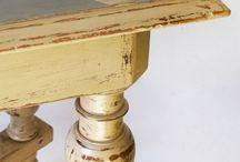 Stůl a stolek