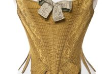 Georgian and Regency Stays and Corsets / Extant examples of 18th and early 19th century corsets.