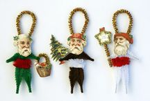 santa ornaments Stewart