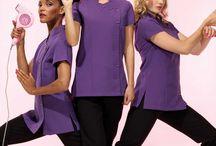 salon staff uniform ideas