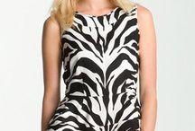 Zebra Top outfit