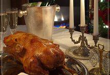 British Holiday Feast