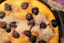 Black iron skillet- southern style / Your Grandmother's skillet with tasty temptations