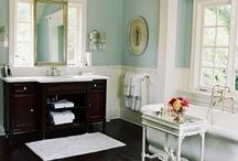 Blue bathroom ideas / by Deana McGarr