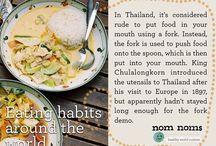 Eating habits around the world