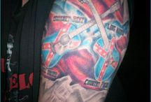 25 Beautiful Rebel Flag Tattoos / For along time now, people have been wearing different forms of tattoos for various reasons. Tattooing involves inserting an indelible ink into the dermis layer of the skin using needles hence changing the pigment.