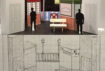 Scenic Design / Set design and build personal creations for local amateur dramatic groups and ideas