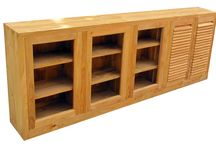 Teak Kitchen Cabinetry