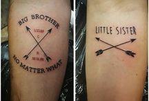 tatuaje para hermano y hermana