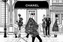 Litografías fashion