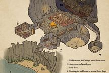 Dungeons and dragons maps