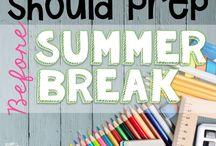 Summer prep for teachers