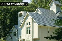 Steel Roofing / KasselWood Shingles are produced from American-made steel for durability, but these roofs are more than tough.  KasselWood roofs look good too! Available in a wide array of colors and styles, we can reproduce the look of cedar, slate, or standard shingles.