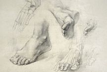 Feet Drawings/Reference