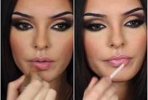 makeup / by Nicole Leblanc-brown