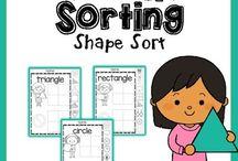 Preschool  Shape Practive