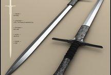 Meče a zbroj