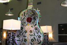 Guitar Kinetic art by LaPaso / Kinetic guitar art by LaPaso    www.lapaso.com