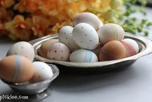 E A S T E R  / Crafts & DIY projects for Easter!