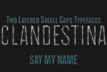 CLANDESTINA Font Download