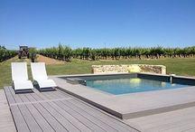Nos piscines photographiées par nos clients eux-mêmes / Tous les ans, nous - Piscinelle - invitons nos clients à partager les photos de leur piscine avec nous #FabricantDePiscine