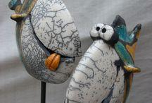 Ceramic animals EXNAR