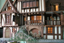 Tudor and Stuart dolls houses / Inspiration for furnishing a Tudor/Stuart era dolls house