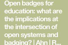 Badging / Badging Education