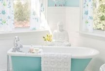 Bathroom Makeover / My bathrooms need makeovers! Dream BIG!