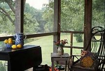 screend in porches