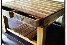 Paletky stôl