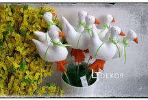 Velikonoční šité dekorace / Velikonoční šité dekorace.  Najdete nás i zde: https://www.facebook.com/groups/188315668023749/
