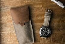 Essential Watch Storage / Handcrafted Bas and Lokes leather watch storage.
