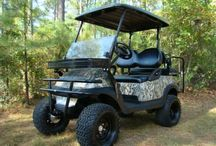 4 Wheel Drive Golf Carts / Club Car Precedent Electric Golf Cart with Four Wheel Drive
