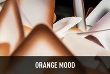 ORANGE MOOD / A Colorfull moodboard to illuminate your ideas!