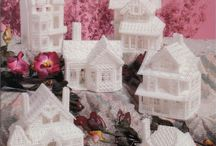 3D Victorian ice Village