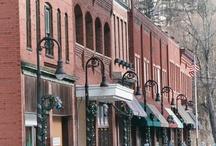 Towns & Cities Southeast / Arkansas, Florida, Kentucky, North Carolina, Tennessee, Virginia and West Virginia / by Kathy Walker