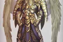 RPG - Angels / Roleplaying Game  RPG Concepts of angels, archangels, principates Paradise Sky