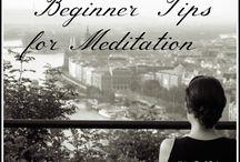 Meditation / by Mia