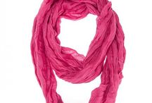Scarf Collection / Our scarf selection is stylishly designed without sacrificing comfort. We offer different choices of fabric color and style. Browse our selection and you'll definitely find your unique look.  / by Sunrise Wholesale Merchandise