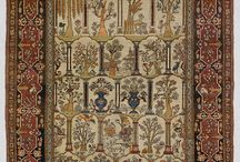 antique carpet isfahan