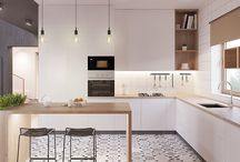 Scandinavian Modern Kitchen (K11)