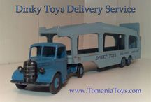Dinky Toys Model Cars made in England