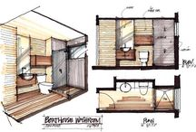 Architectural Visuals / Drawing inspiration relating to Architecture and Interior