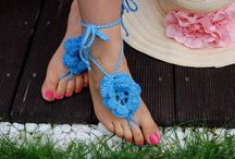 barefoot sandals, sexy foot jewelry, crochet barefoot sandals /  Beach Wedding Sandals; Crochet Barefoot Sandals; Foot Jewelry Sexy Summer Beachwear Accessory; barefoot sandles