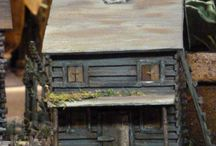 Cabin Fever / Beautiful log cabins and other Spring items that we have in our shop in Kutztown for our Cabin Fever event!