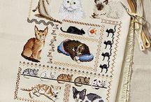 Cross Stitching Inspiration / Cross Stitching inspiration and kits wish list.