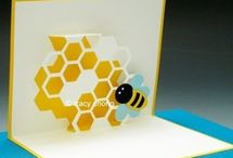 POP UP - tarjetas con dobleces en 3D