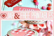Valentines Gift Ideas and Free Printables